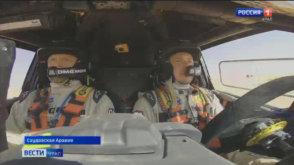 Экипаж Сергея Карякина находится на 4 месте на ралли «Дакар-2021»
