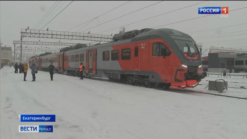 В Свердловской области начал курсировать дизель-поезд «Орлан»