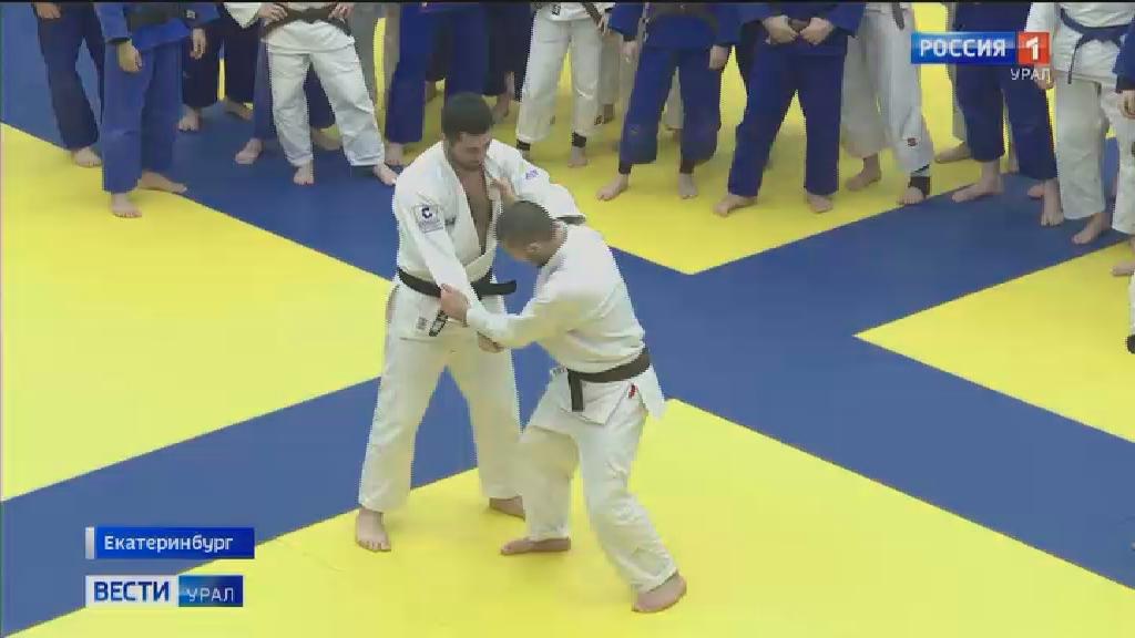 Двукратный чемпион Европы провёл мастер-класс для юных дзюдоистов