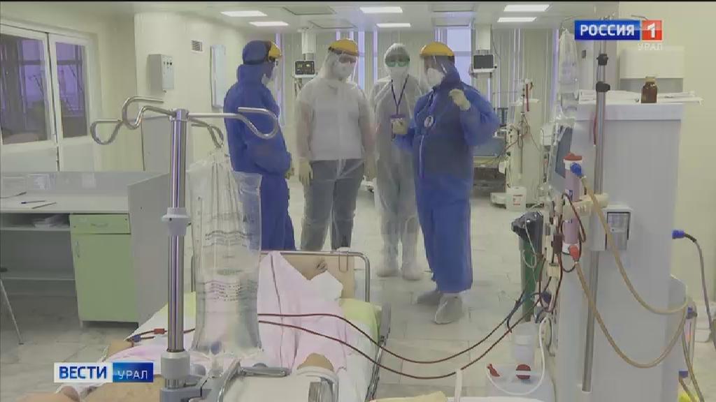 Медики и волонтёры получат помощь от свердловских единороссов
