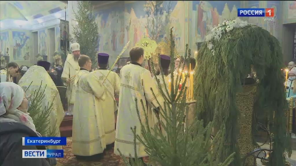 Накануне православные христиане встретили Рождество Христово