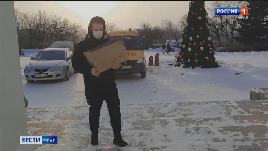 Активисты ОНФ поздравили с Новым годом ребят из Малоистокского детдома