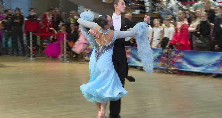 В Екатеринбурге прошли соревнования по танцевальному спорту «Уральские узоры»