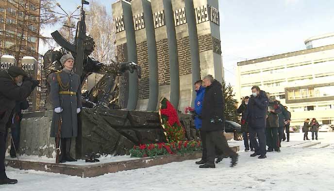 В Екатеринбурге отметили 32-ю годовщину вывода войск из Афганистана