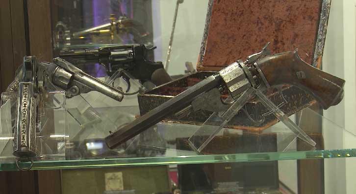 В Екатеринбурге в частном музее собрана уникальная коллекция оружия