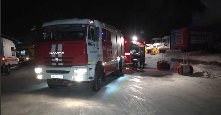Сотрудникам МЧС удалось предотвратить крупный пожар