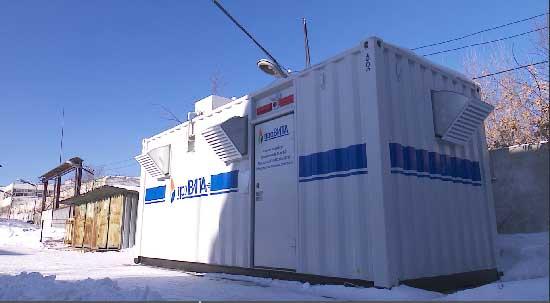 В столице Урала на базе станции скорой помощи запущен кислородный концентратор
