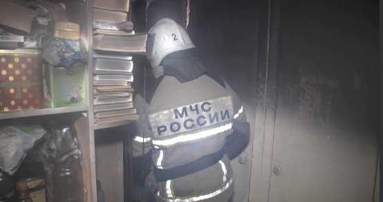 На Серафимы Дерябиной в пожаре погиб мужчина