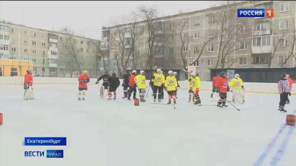 Дружеские матчи провели хоккеисты в рамках проекта «Маэстро 50+»