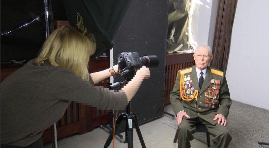 Ветераны ВОВ приняли участие в проекте «Герои России, какими их не видел никто»