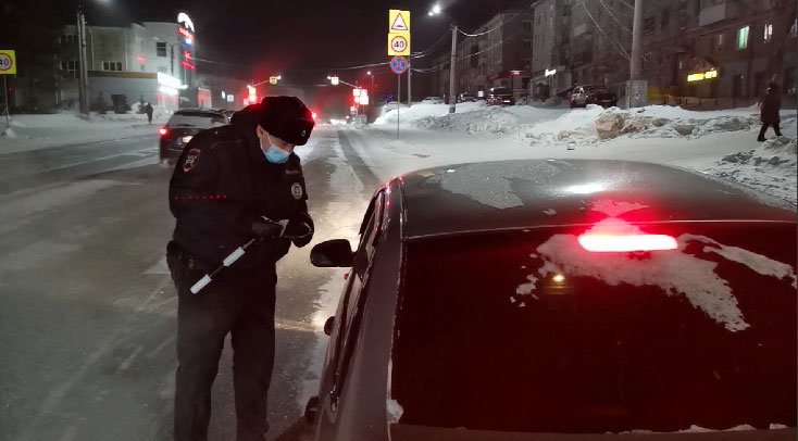 За праздничные выходные задержано более 200 нетрезвых водителей