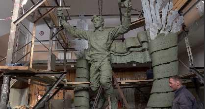 Скульптура Николая Дуракова появится в Екатеринбурге