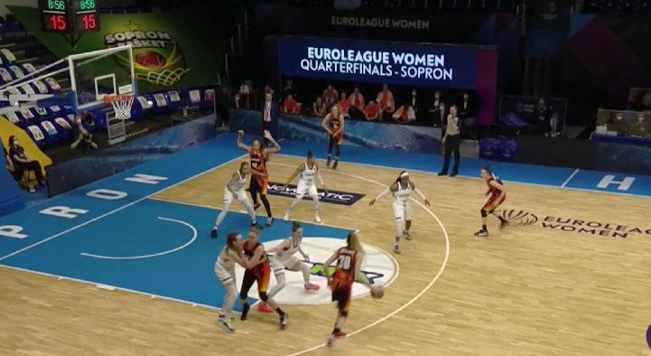 Баскетболистки УГМК обыграли курское «Динамо»