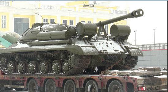 Танк Ис-3 пополнил экспозицию Музея военной техники