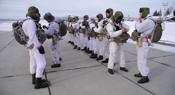 Первые в этом году учения провели разведчики и военные метеорологи ЦВО