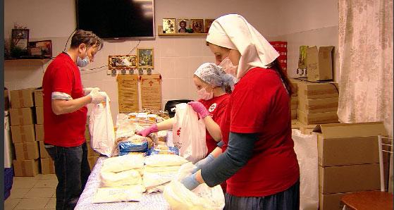 Православная служба милосердия оказывает поддержку многодетным семьям, пенсионерам и погорельцам
