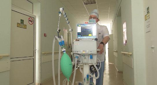 Новые аппараты ИВЛ получила екатеринбургская больница №23