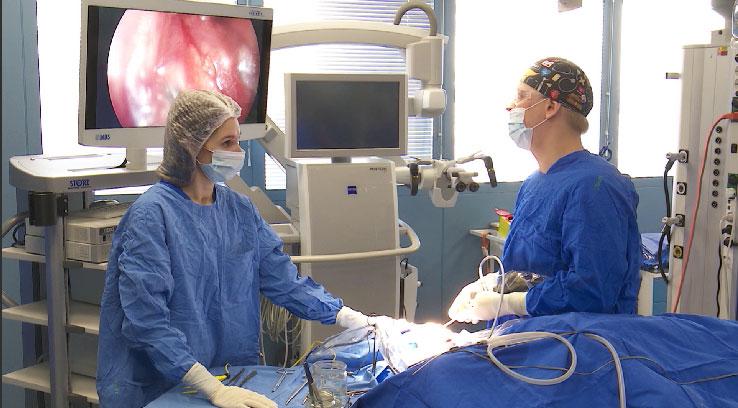 Новое оборудование получило нейрохирургическое отделение ГКБ №40