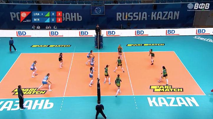 «Уралочка-НТМК» одержала победу в первой игре «Финала шести»