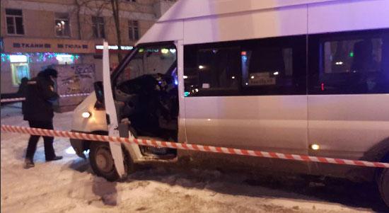 Задержан предполагаемый убийца водителя микроавтобуса