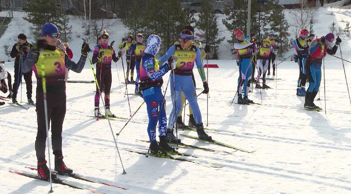 Необычный лыжный марафон завершил зимний сезон