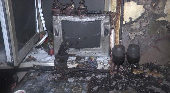 В общежитии Лестеха произошел пожар