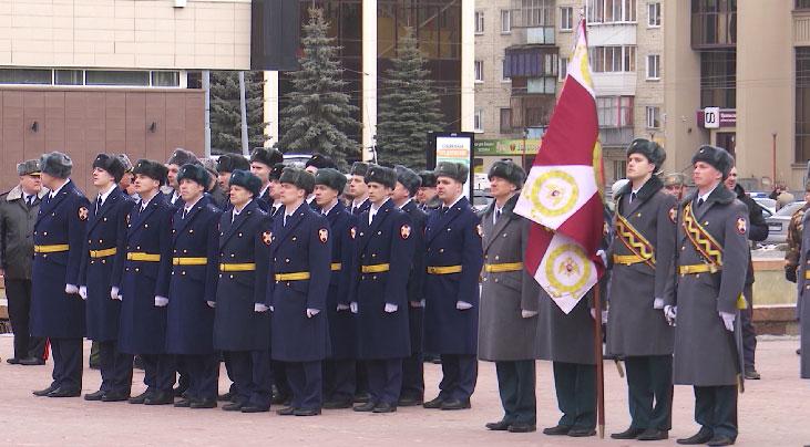 Войска Росгвардии отметили профессиональный праздник
