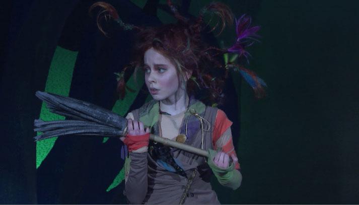 Премьеру спектакля «Маленькая Баба-Яга» представили в театре балета «Щелкунчик»