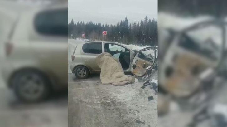 В ДТП на пермской трассе погибла женщина-водитель