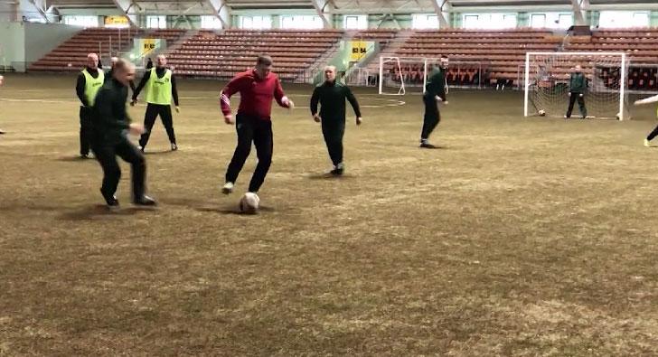 Воспитанники Кировградской колонии посетили Футбольную академию