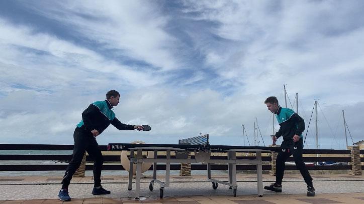 Теннис на берегу Чёрного моря