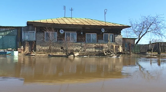 В Свердловской области начался весенний паводок
