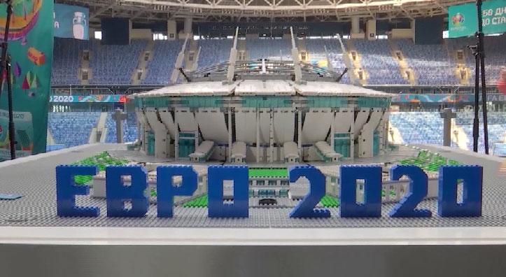 В Петербурге отметили 50 дней до старта Чемпионата России по футболу