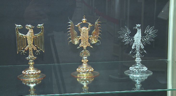 Выставка стеклодува Юрия Леньшина открылась в Екатеринбурге