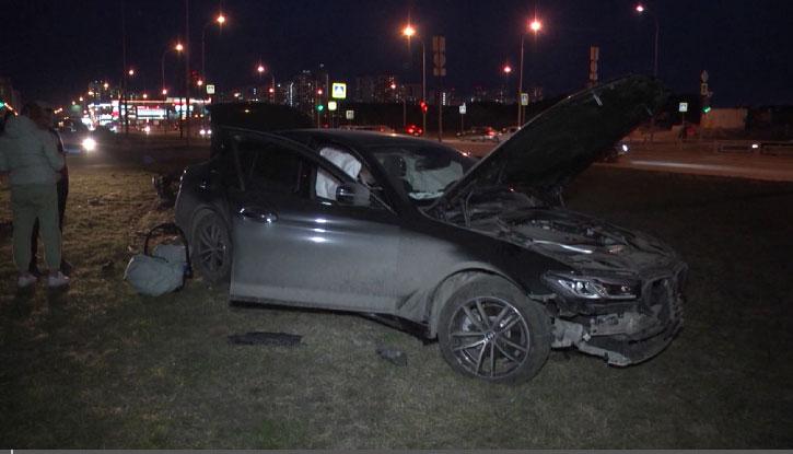 Накануне вечером «Лада Приора» врезалась в BMW