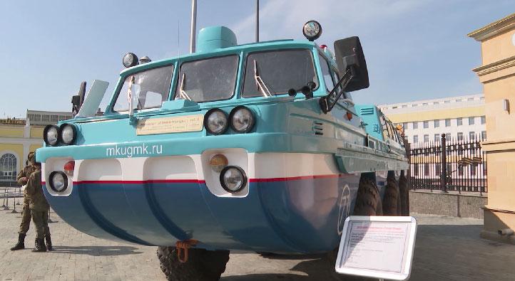 В Верхней Пышме открылась выставка, посвященная Дню космонавтики
