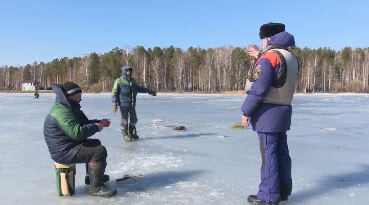 Спасатели отправились на Рефтинское водохранилище
