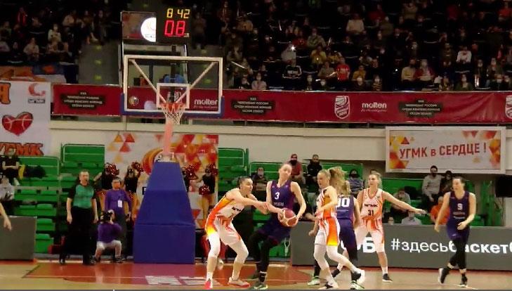 Баскетболистки УГМК обыграли «Нику» из Сыктывкара