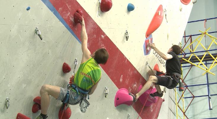 В Екатеринбурге проходит чемпионат Свердловской области по скалолазанию