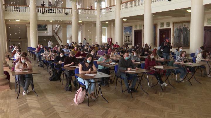 В Екатеринбурге подвели итоги акции «Тотальный диктант»