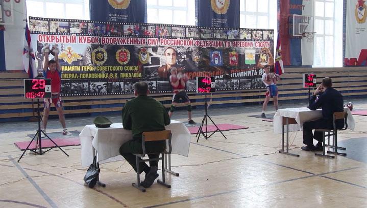 Кубок ВС РФ по гиревому спорту завершился победой команды ЦВО
