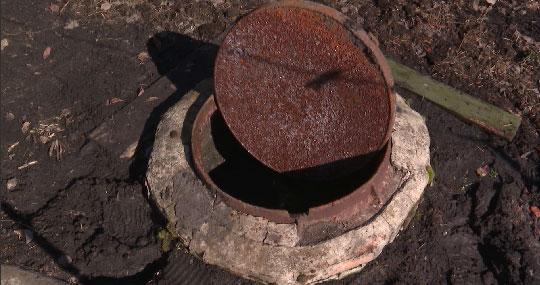 В селе Курьи канализационные стоки топят огороды
