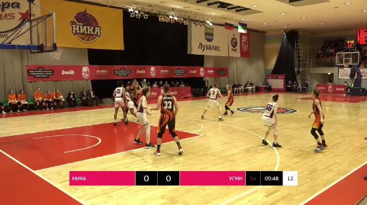 Баскетболистки УГМК обыграли сыктывкарскую «Нику»