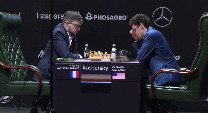 Сегодня в Екатеринбурге продолжится турнир претендентов по шахматам