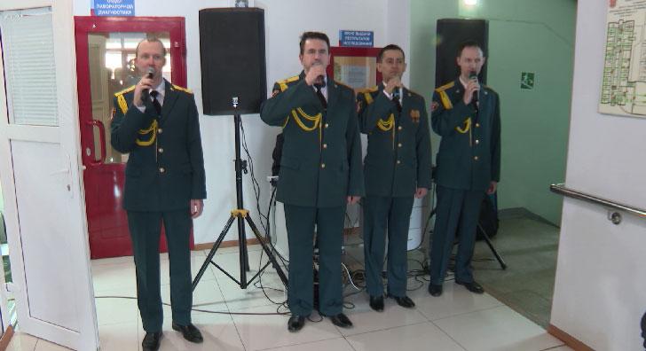 Концерт в честь Дня донора устроили на Областной станции переливания крови