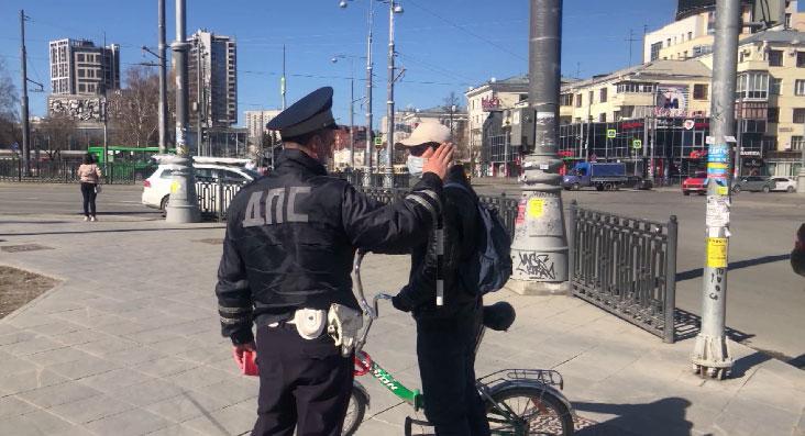 Инспекторы ГИБДД провели рейд по велосипедистам