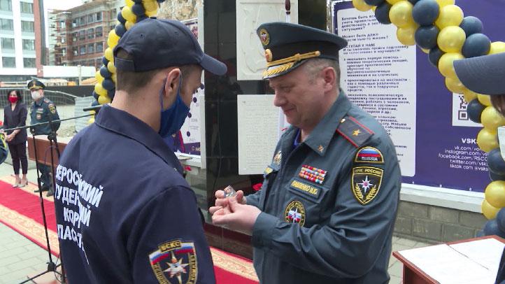 Всероссийский студенческий корпус спасателей отмечает 20-летие