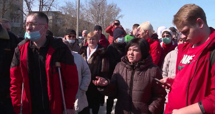 Лесополосу рядом с домом отстаивают жители Калиновского макрорайона
