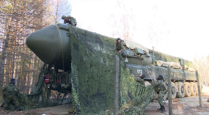 Контрольную проверку прошли тагильские ракетные соединения стратегического назначения