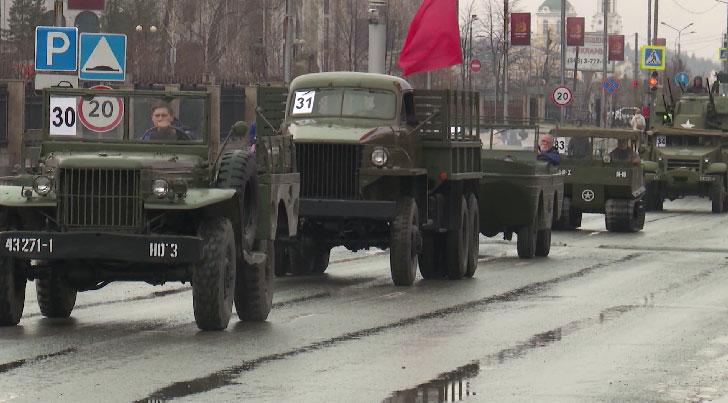 Репетиция парада Победы прошла в Верхней Пышме